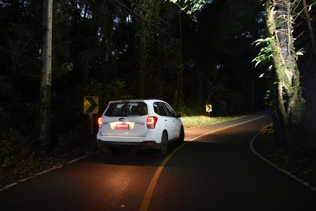 กล้องรถยนต์ ตอนกลางคืน
