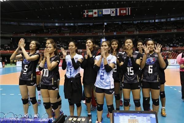 ทีมนักตบลูกยางสาวทีมชาติไทย